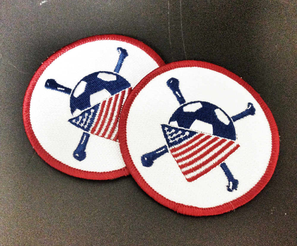 AO Embroidered Patch (2 PACK)