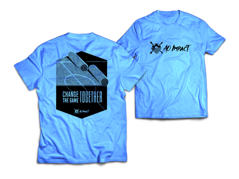 AO Impact - Change the Game Blue Tee