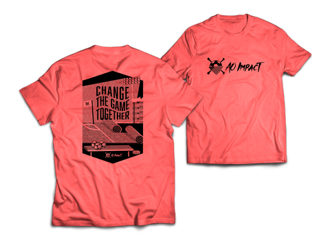 AO Impact - Change the Game Red Tee
