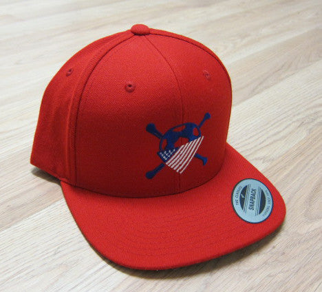 AO Snapback Hat - Red