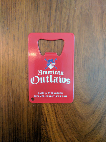 AO Bottle Opener - Red