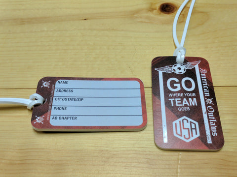 New! AO Luggage Tags (2 PACK)