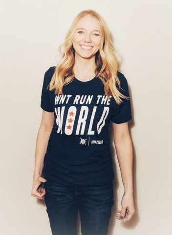WNT Run the World T-Shirt