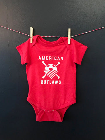 AO Onesies (available in three colors)