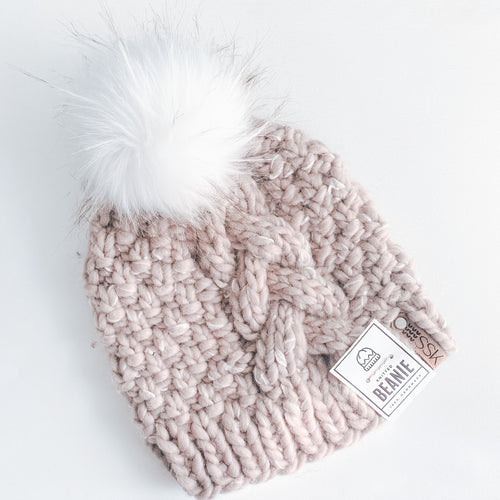 Marie Braid Beanie - Smith Studio Knits