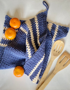 Bistro Tea Towel 🌎 - Smith Studio Knits