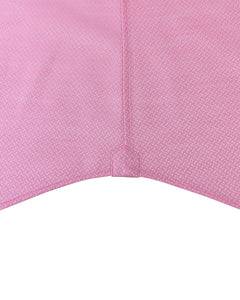 JACQUARD PINK AND WHITE