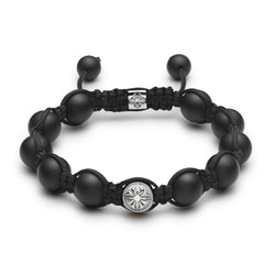 10mm Shamballa Braided Bracelet