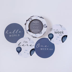 Cloud Chaser & Indigo Reversible Milestone Cards