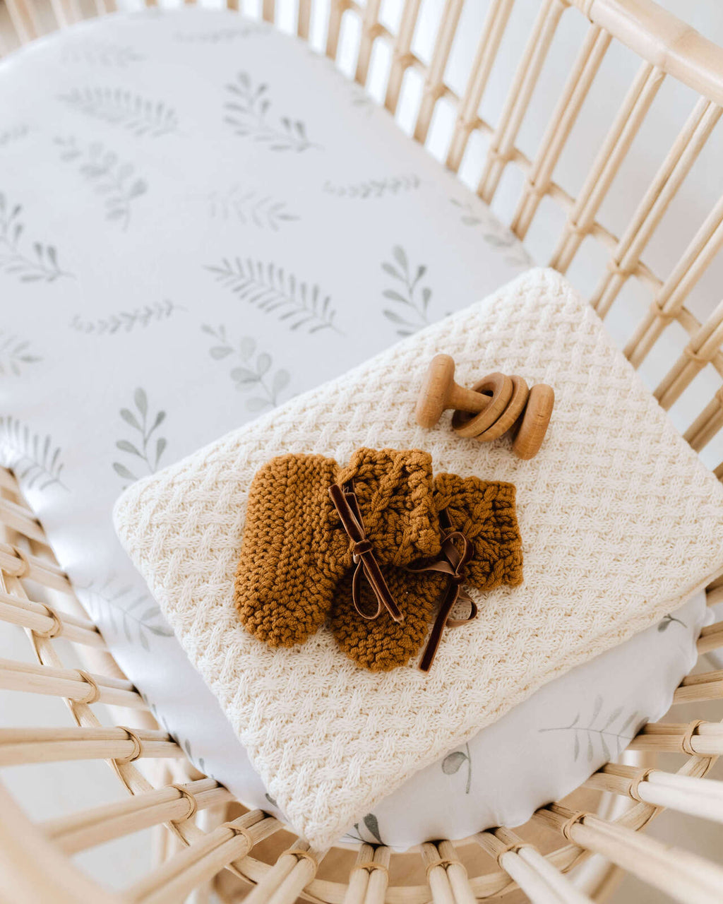 Wild Fern | Bassinet Sheet / Change Pad Cover
