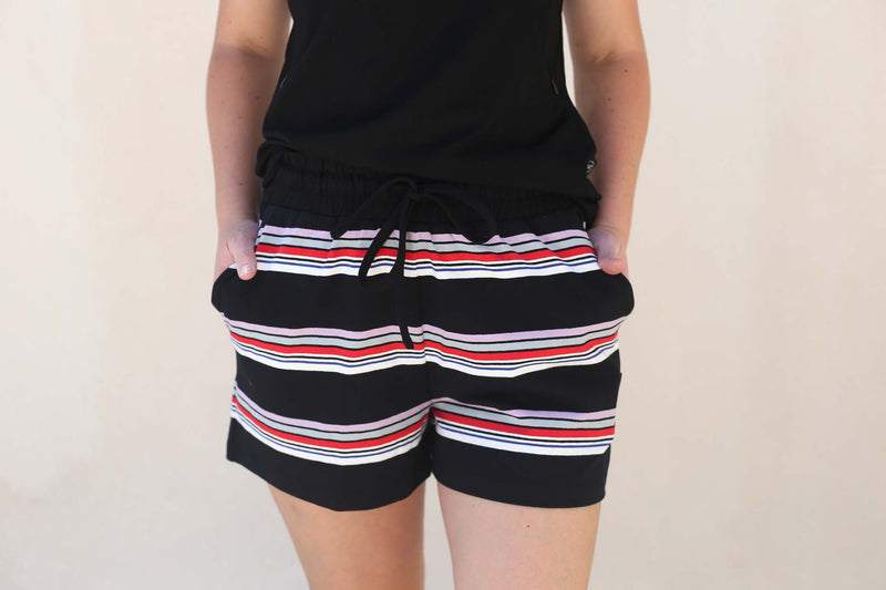 Black Ayla Shorts by Addison Clothing