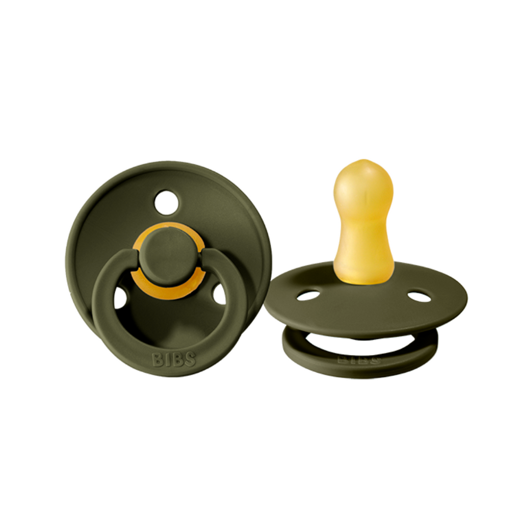 BIBS Dummy - 2 pack (HUNTER GREEN)