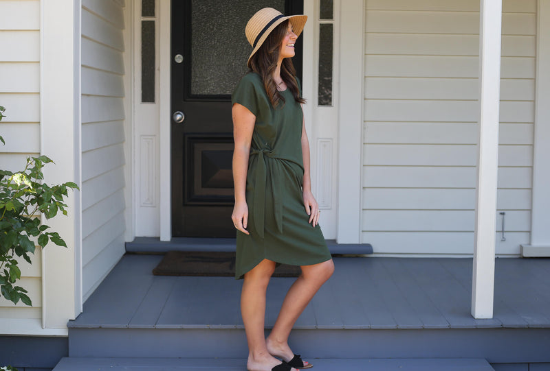 Indie Breastfeeding Dress By Addison Clothing