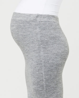 Beck Knit Skirt Charcoal Marle