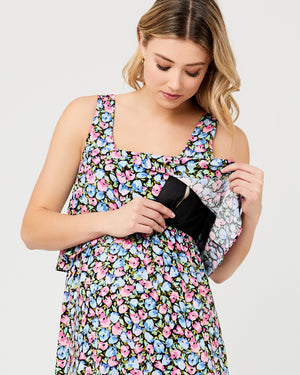 Beth Nursing Dress Multi