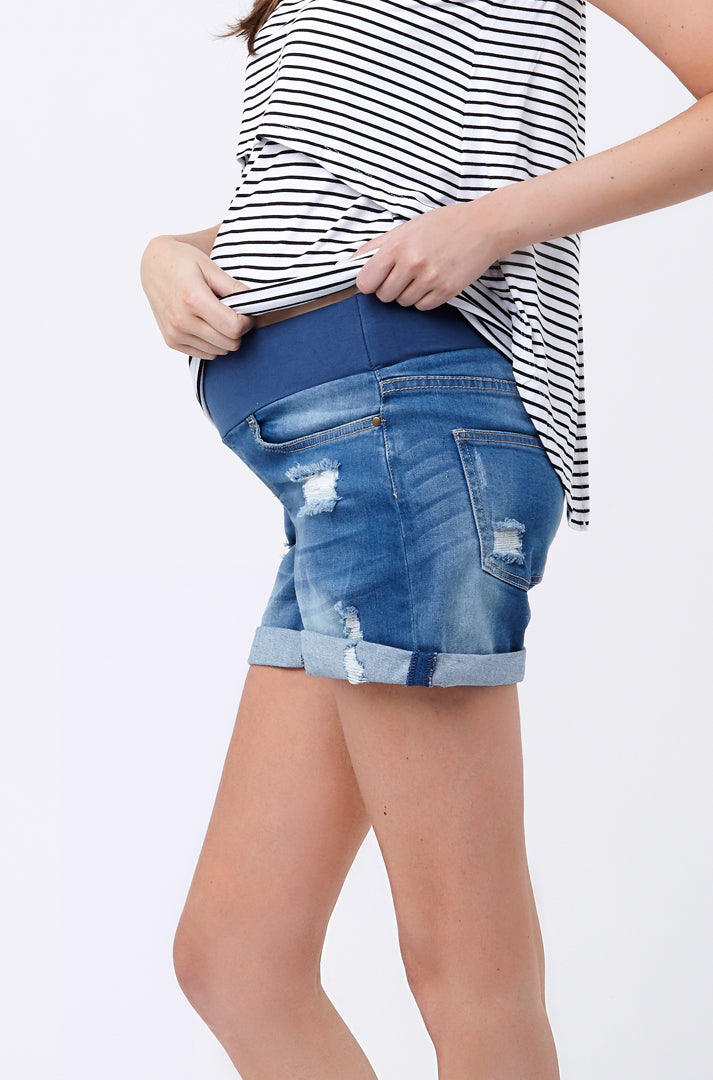 Baxter Boyfriend Short New Blue