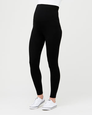 Organic Over Bump Legging Black