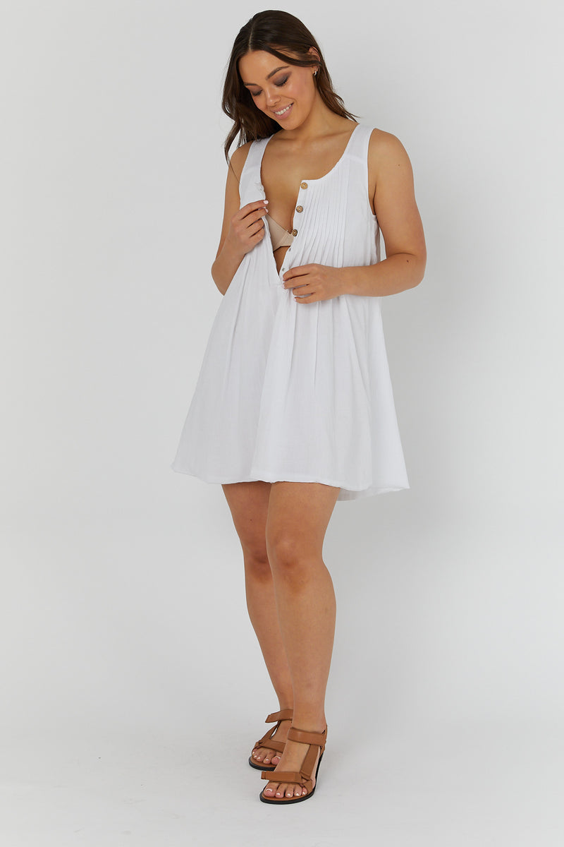 Arabella Dress (WHITE) - L E G O E.