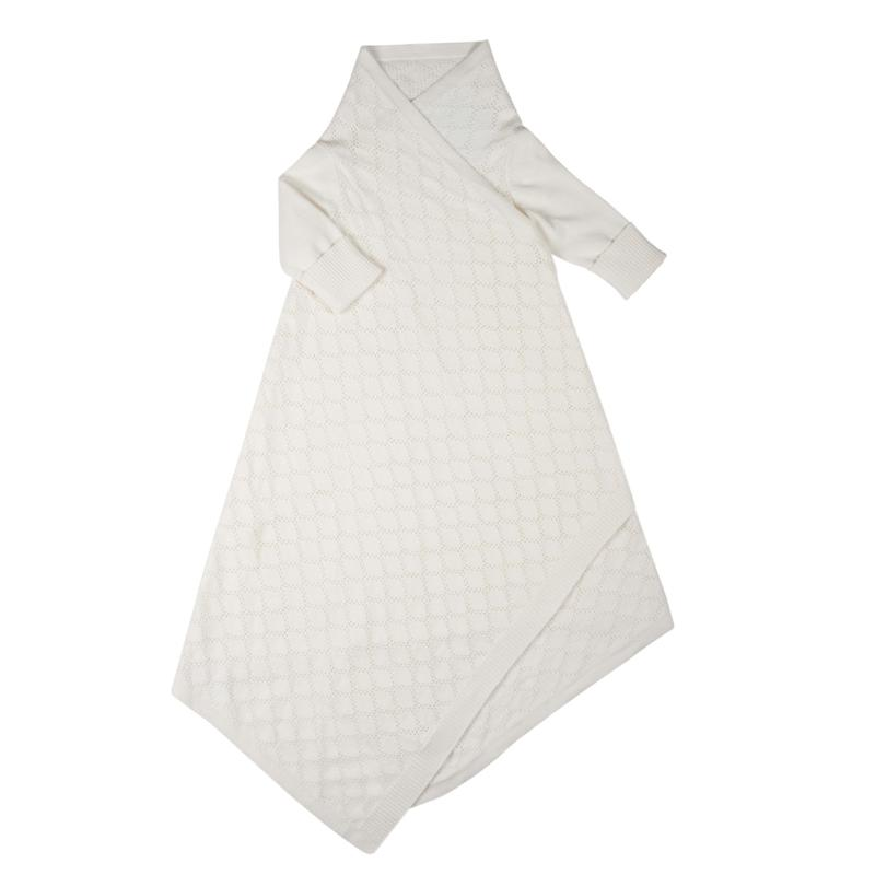Pointelle Lace shwrap™ - Milk