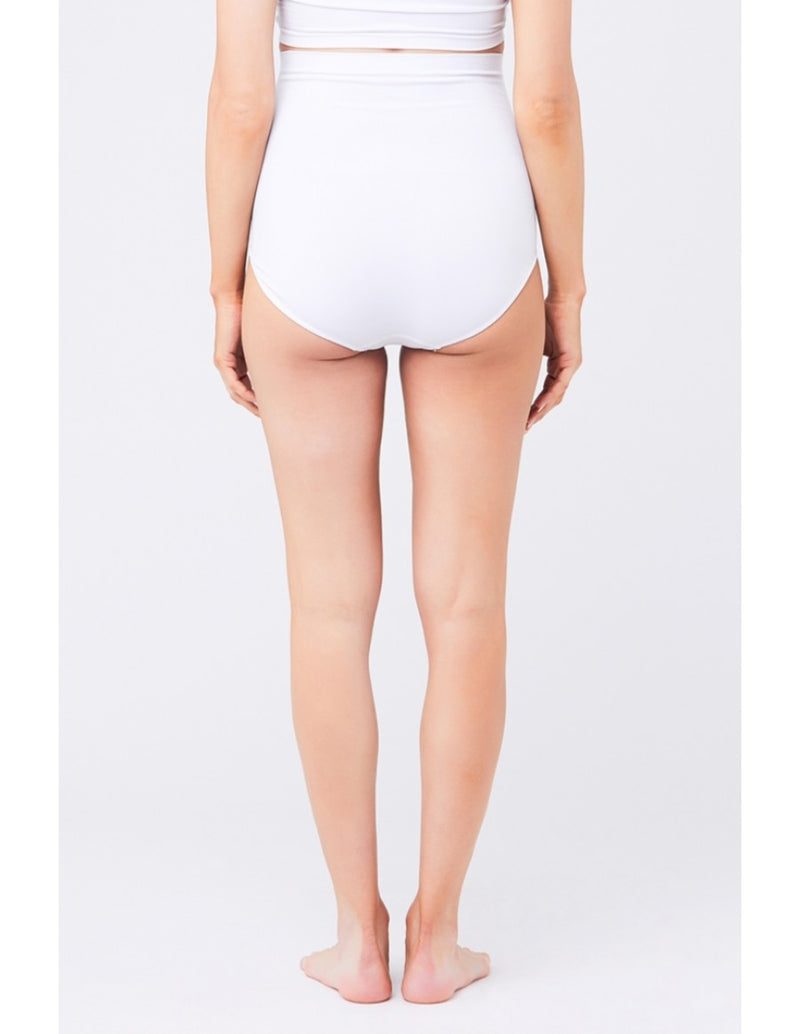 Seamless Maternity Brief (White)