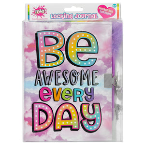 be awesome locking journal