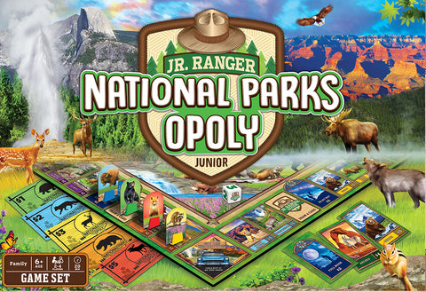 national parks opoly jr.