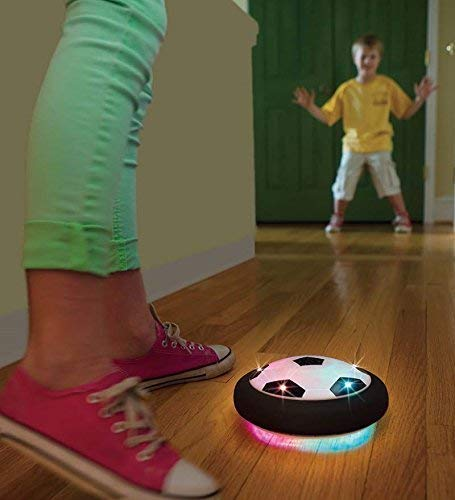 light-up air hover soccer
