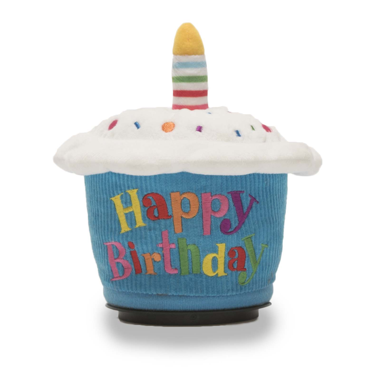 birthday cupcake spinner