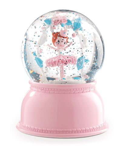 ballerina snowglobe nightlight