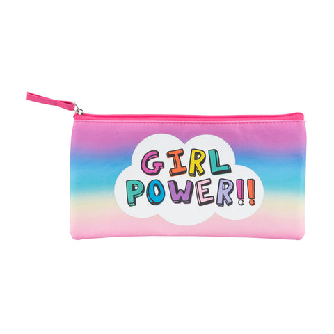 girl power pencil/cosmetic case