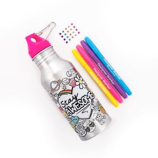 color your own water bottle
