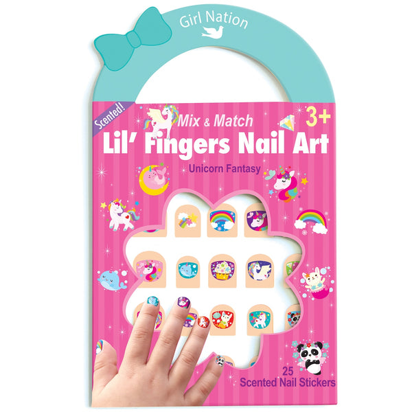 lil' fingers nail art stickers