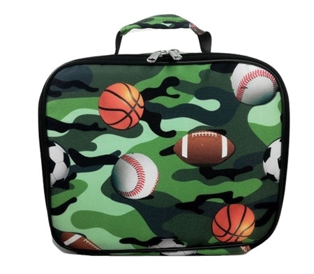 camo sport lunch box