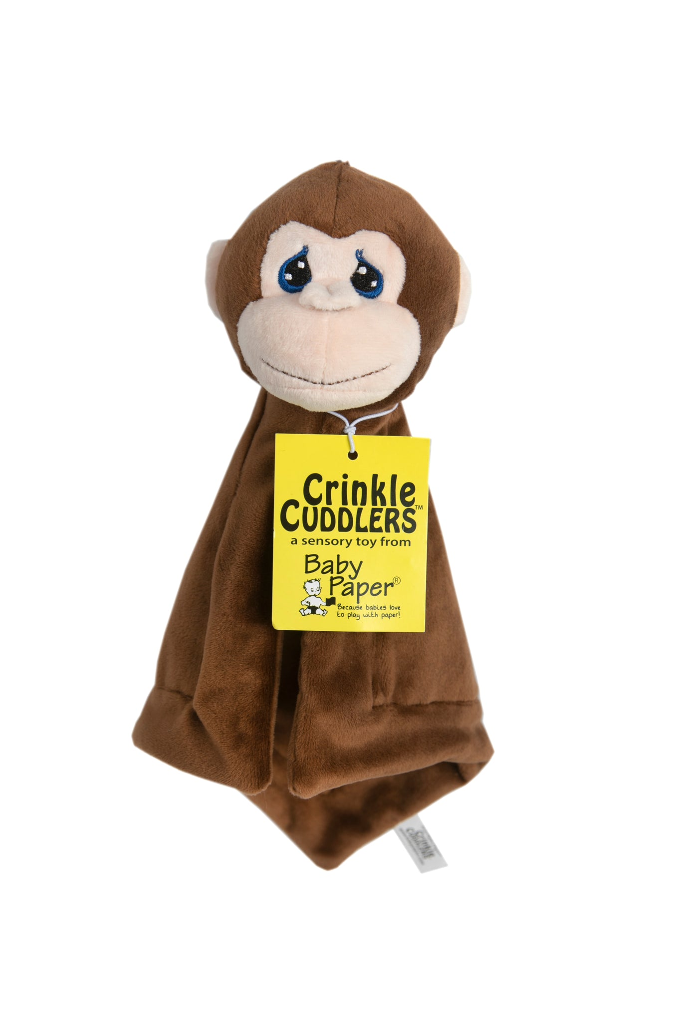 crinkle cuddlers - monkey