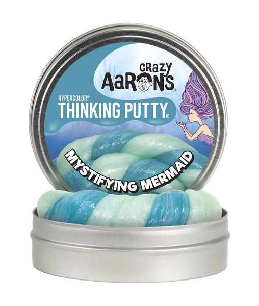 crazy aaron's thinking putty - mystifiying mermaid