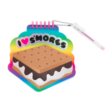 s'mores mini notepad