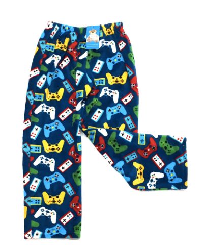 gamer fuzzie pants