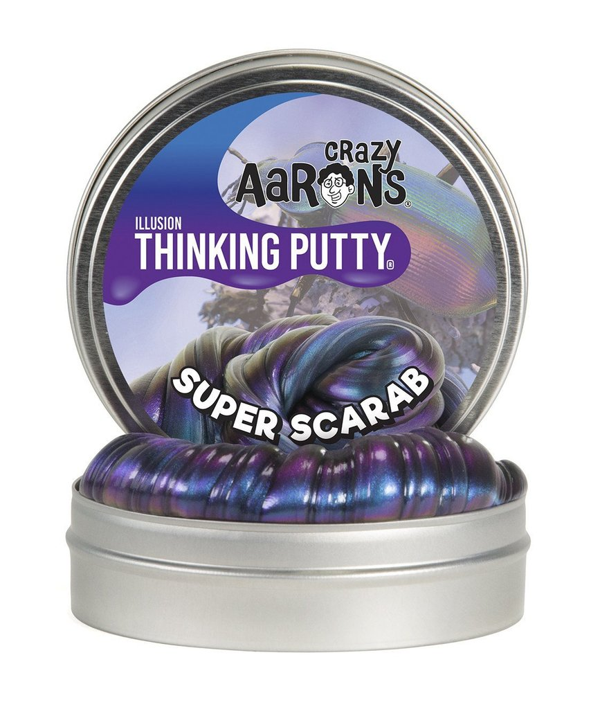 crazy aaron's thinking putty - super scarab