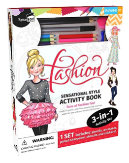 fashion -sensational style activity book