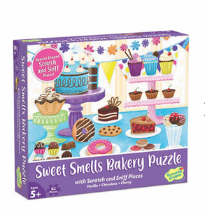 sweet smells bakery puzzle - 82 pieces