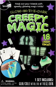 glow-in-the-dark creepy magic
