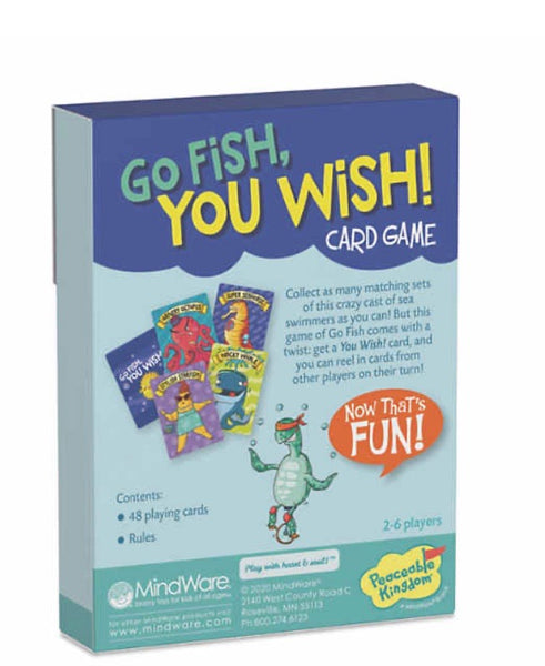 classic card games - go fish and crazy 8's