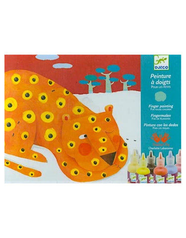 finger tracks painting set