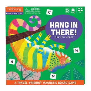 hang in there fun with words magnetic board game