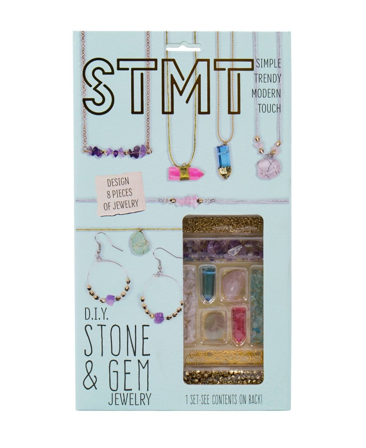 diy stone and gem jewelry