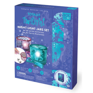 totally twilight night light jars set