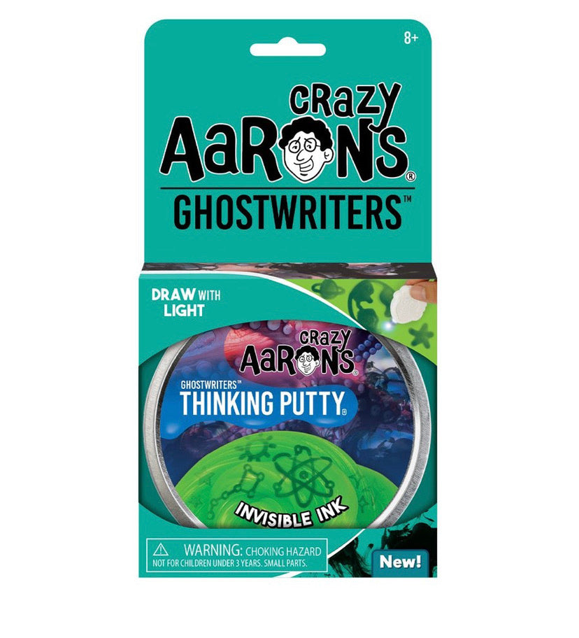 crazy aaron's invisible ink thinking putty
