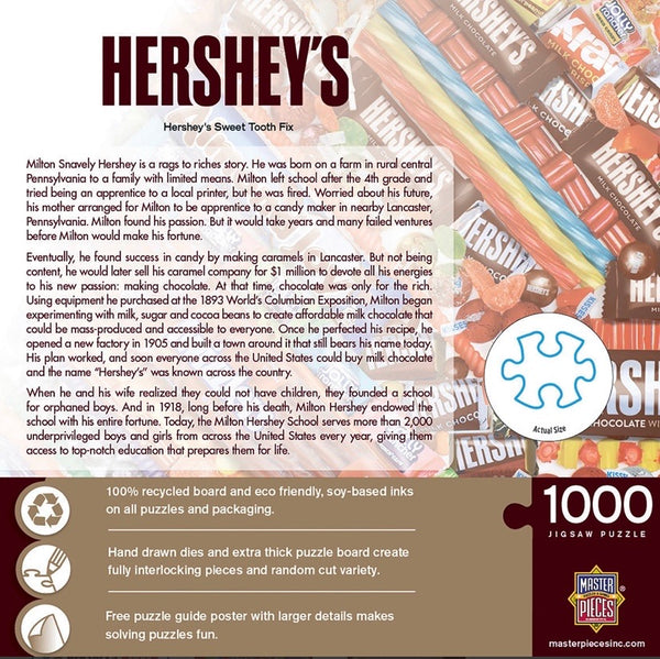 hershey's sweet tooth fix - 1000 piece puzzle