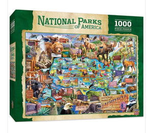 national parks - 1000 piece puzzle