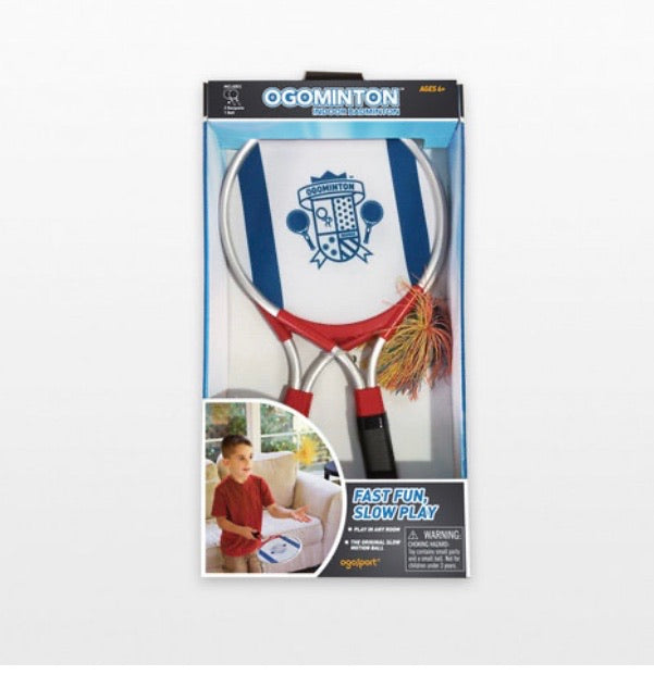 ogominton - indoor or outdoor badminton